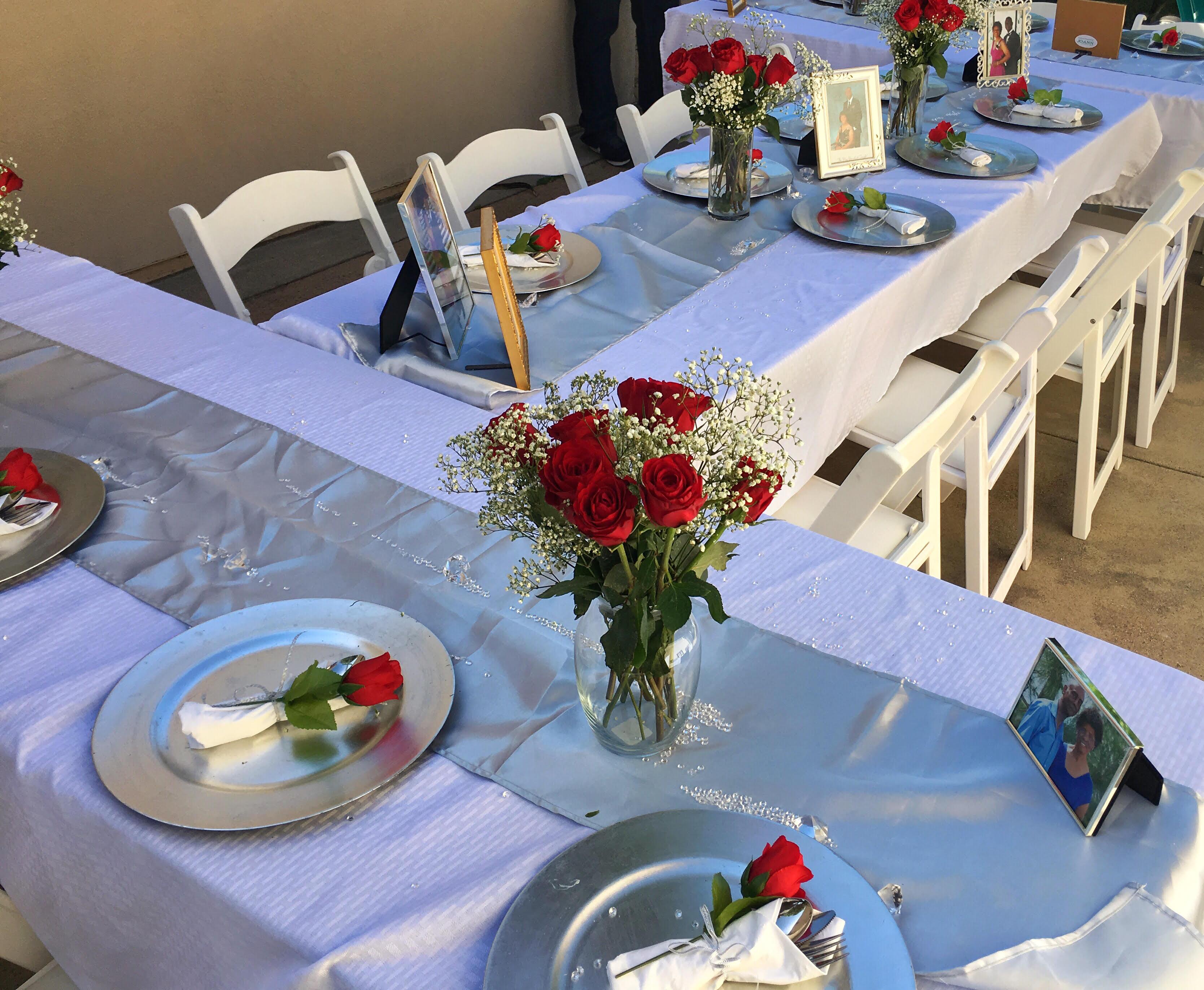 Anniversary Dinner Table Devor