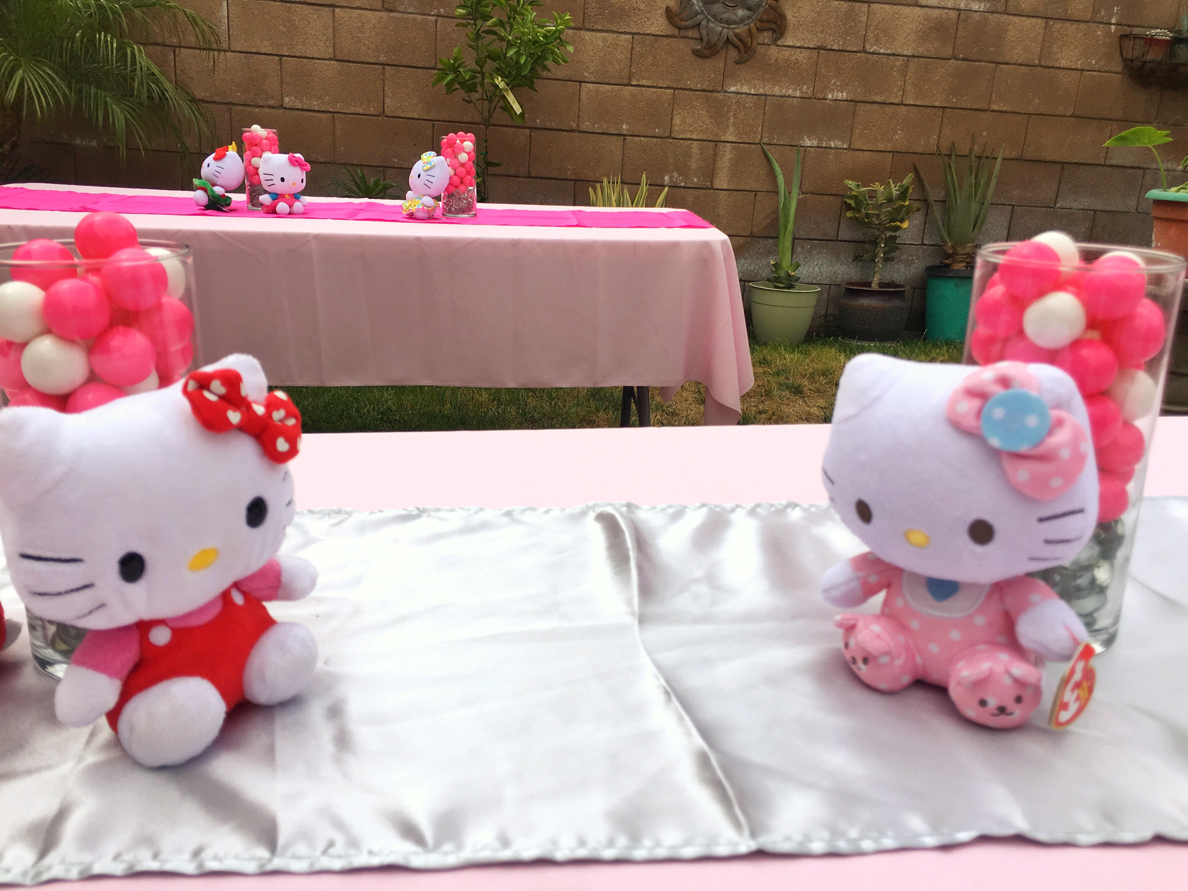 Hello kitty party sweet ds creations for Table exterieur hello kitty