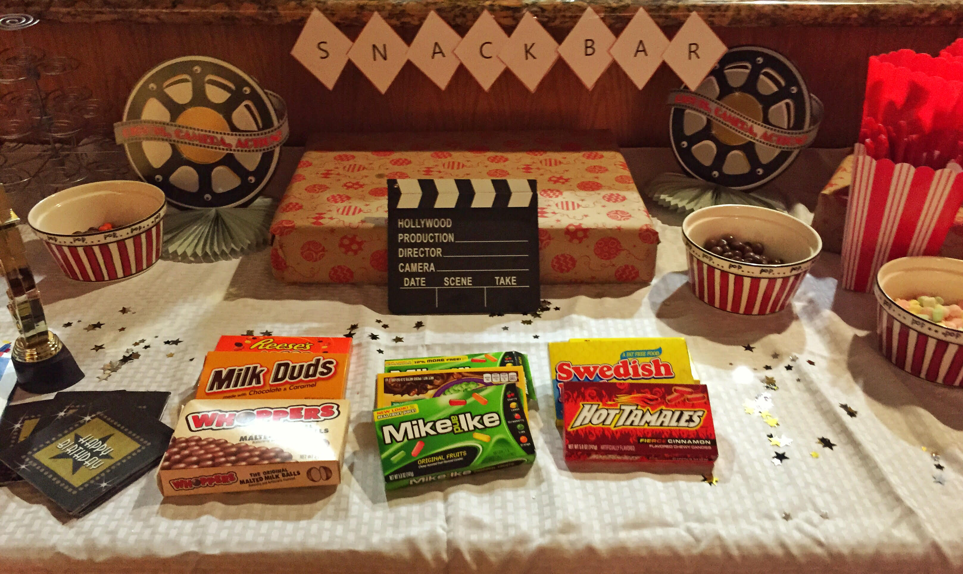 Movie Theater Party Snacks