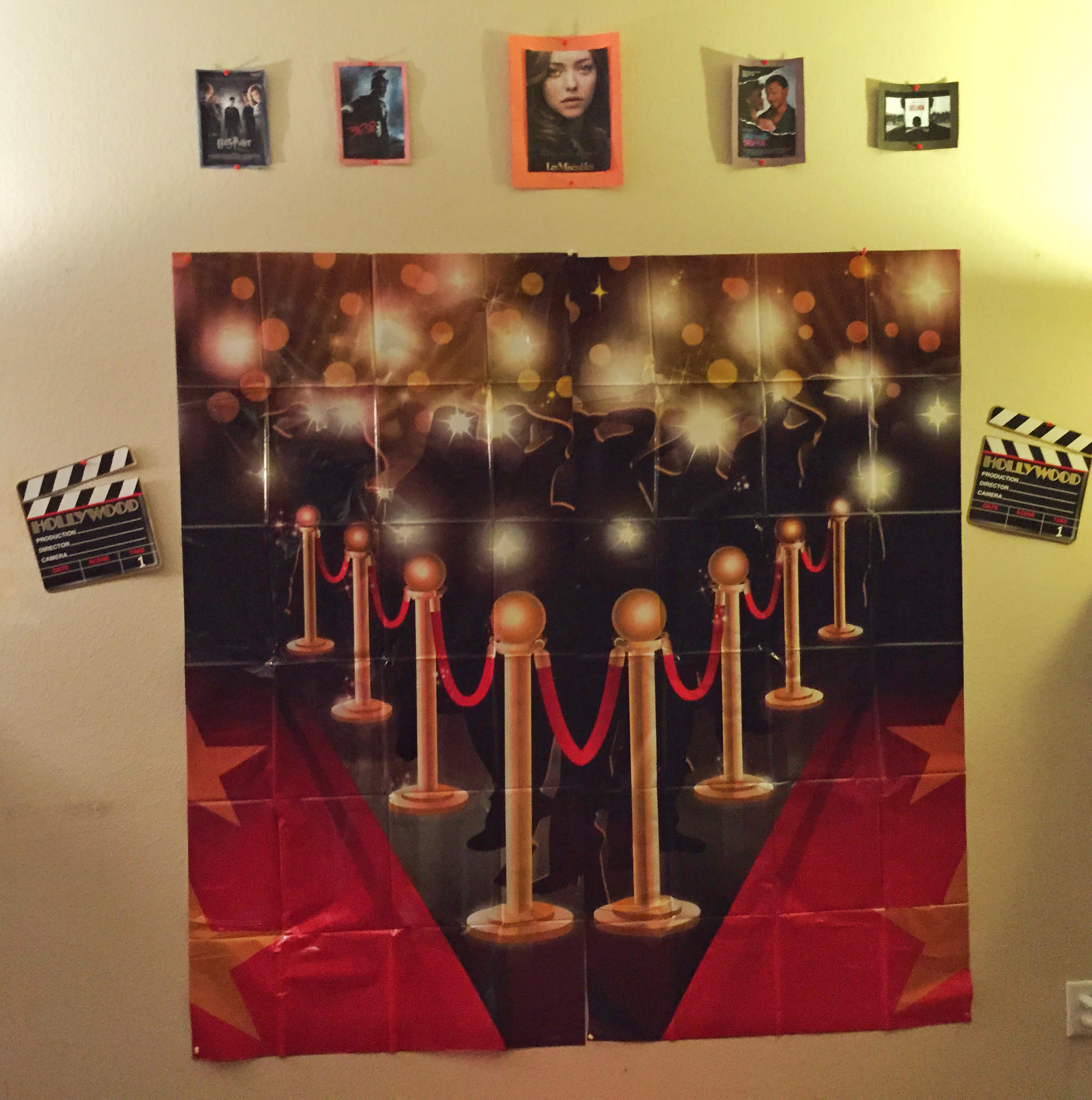Movie Theater Picture Wall