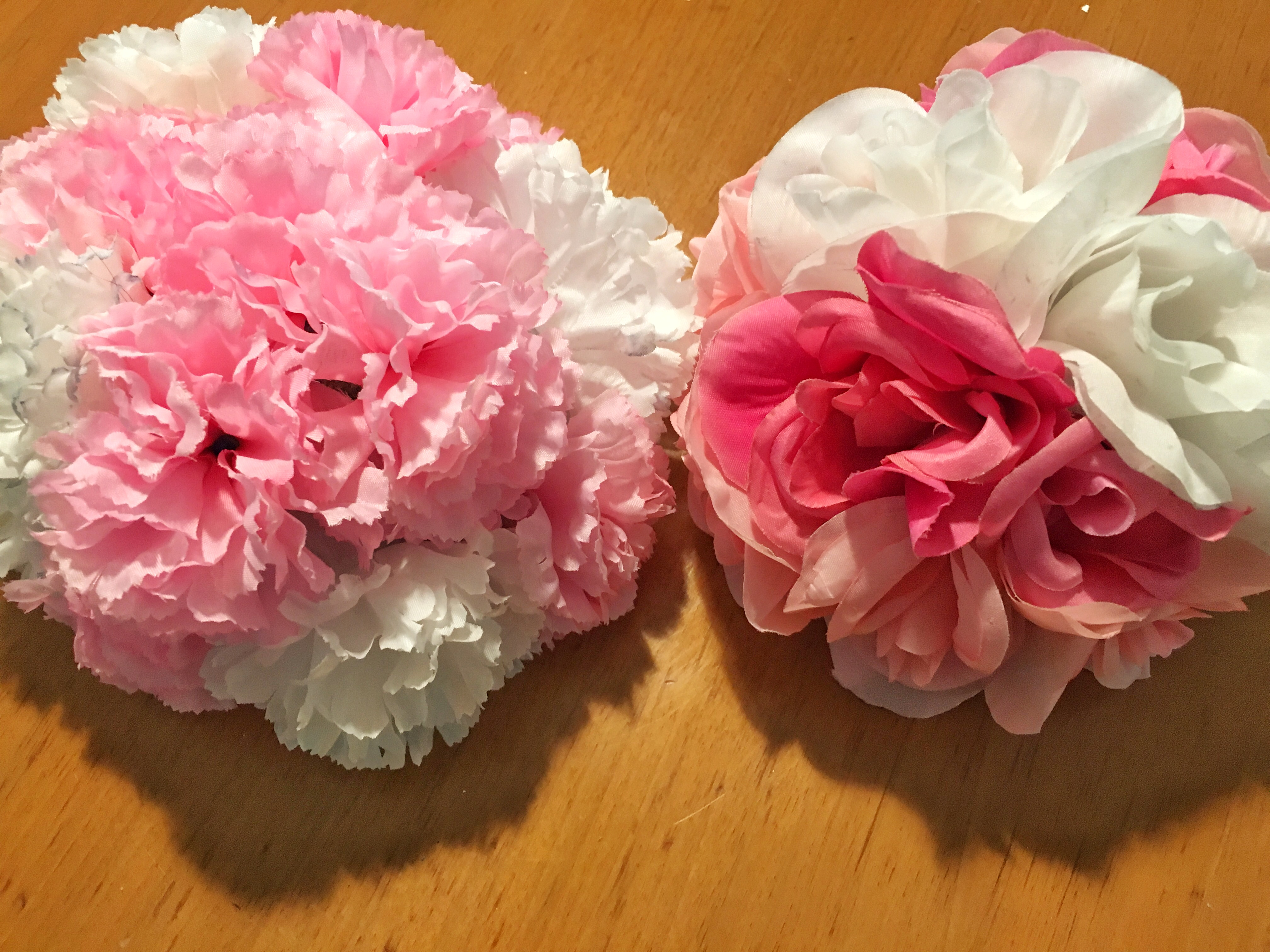 Artificial flower centerpieces sweet ds creations for Fake flowers for crafts