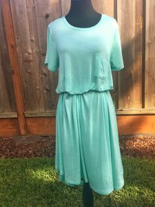 Carly Dress with Hidden Belt