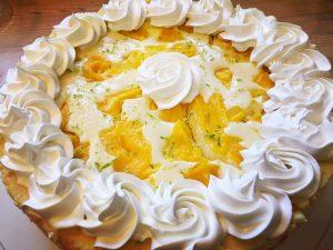 Thai Mango Lime Cheesecake