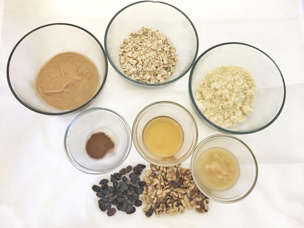Vegan Oatmeal Cookie Treats