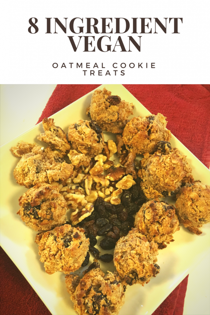 Vegan Oatmeal Cookie Treats